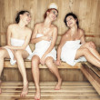 Young in sauna — Stock Photo #27049869