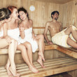 Young in sauna — Stock Photo #27049899