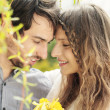 Lovely couple smiling — Stock Photo #27050285