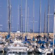 The yachts at the coast Tel-Aviv — ストック写真