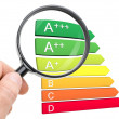 Stock Photo: Europeenergy efficiency classification
