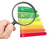 欧洲能源效率分类 — 图库照片