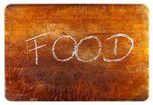 食品のテキスト — ストック写真
