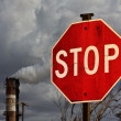 Stop pollution — Stock Photo #18721393