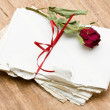Love letters — Stock Photo #18722153
