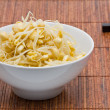 Soy bean sprouts - Stock Photo