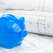 Stock Photo: Home construction financing