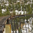 Railroad bridge - 图库照片