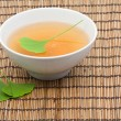 Ginkgo tea - Stock Photo