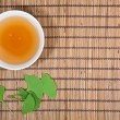 Ginkgo tea — Stock Photo