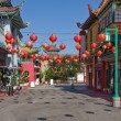 China town in Los Angeles - Stock Photo