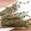 Stock Photo: Dried herbs