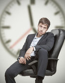 Job frustration — Stock Photo