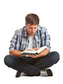 Young student reading — Stock Photo