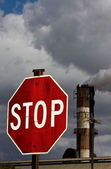 Stop pollution — Stock Photo