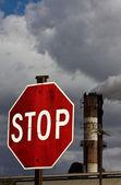 Detener la contaminación — Foto de Stock