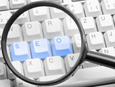 SEO - search engine optimization concept — Stock Photo