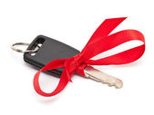 Car key present — Stock Photo