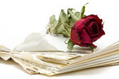 Listy miłosne — Zdjęcie stockowe