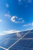 Fotovoltaïsche panelen — Stockfoto