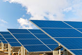 Solar photovoltaics panels — Stock Photo