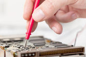 Electronics engineer — Stock Photo