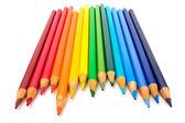 Rainbow pens — Stock Photo