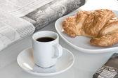 European breakfast — Stock Photo