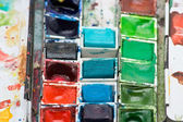 Paint box — Stock Photo