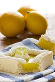 лимонный пирог — Стоковое фото