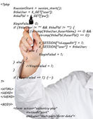 Source code — Stock Photo