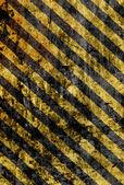 Grunge žluté pruhy — Stock fotografie