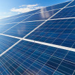 Solar photovoltaics panels - Stock Photo