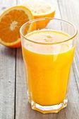 桔子汁 — 图库照片