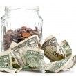 Stock Photo: Penny jar