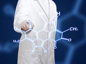 Chemist scientist — Stock Photo