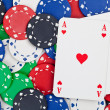 Pocket aces — Stock Photo