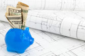 Home construction financing — Stock Photo