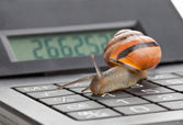 Slow finance — Stock Photo