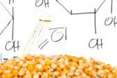 Biofuel process — Stock Photo