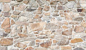 Cobblestone wall — Stock Photo
