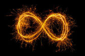 Infinity symbol — Stock Photo