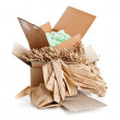 Recyclable packaging material — Stock Photo #46515969
