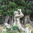 Stock Photo: Triton of Villa Trabia