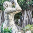 Triton of Villa Trabia, Palermo — Stock Photo