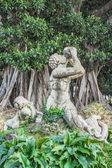 Triton van villa trabia, palermo — Stockfoto