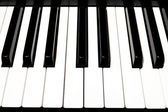 Key piano — Stockfoto