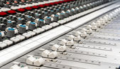 Audio console — Stock Photo