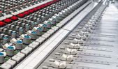 Audio console — Stock Photo