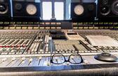 Break in studio recording — Stock Photo